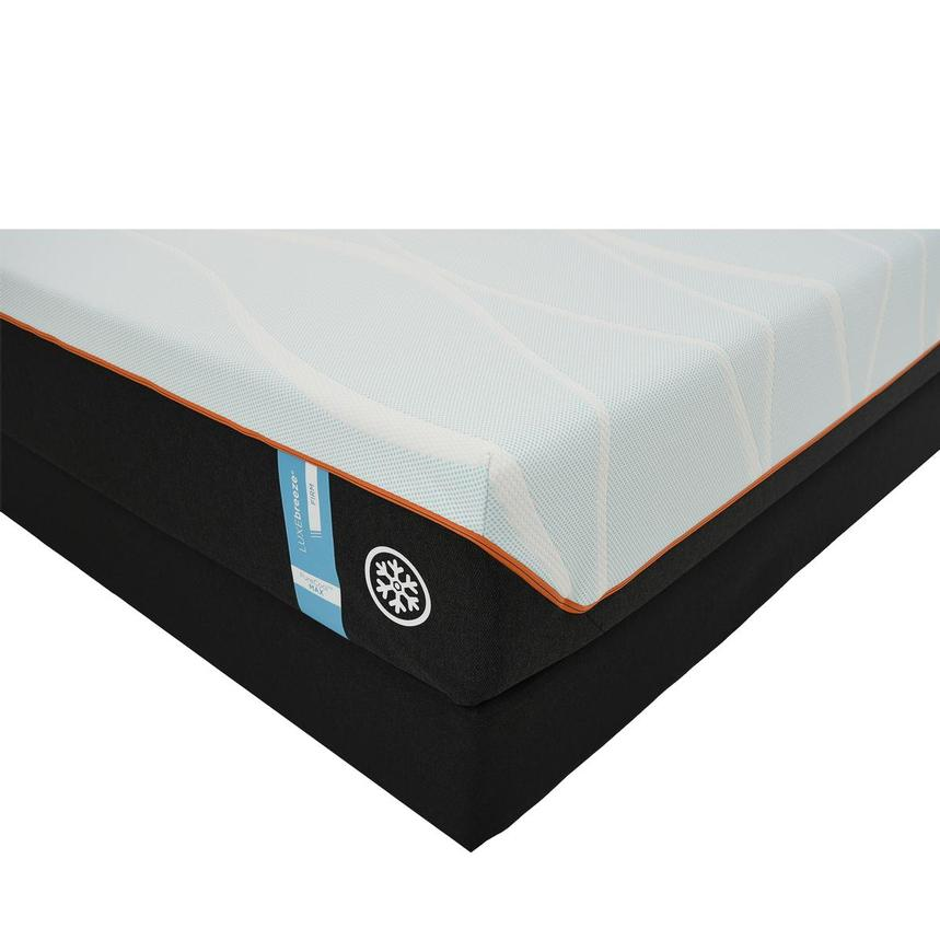 Luxe-Breeze Firm King Mattress w/Low Foundation by Tempur-Pedic  main image, 1 of 5 images.