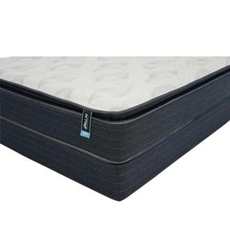 Reef King Mattress w/Low Foundation by Palm