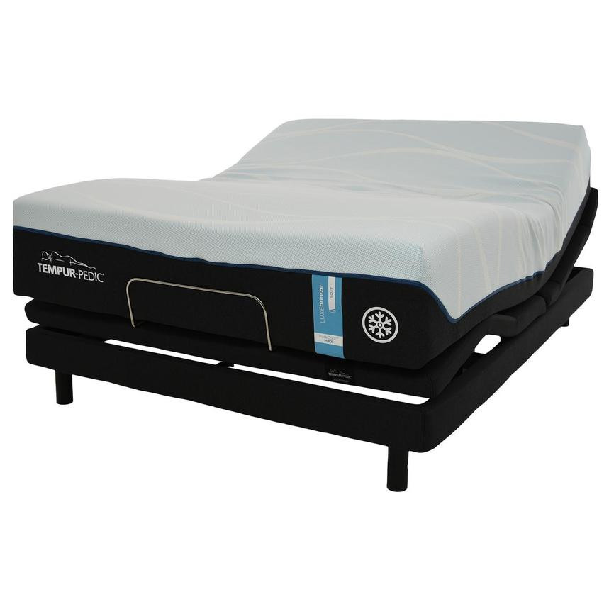 Luxe-Breeze Soft King Mattress w/Ergo® Extend Powered Base by Tempur-Pedic  alternate image, 4 of 7 images.