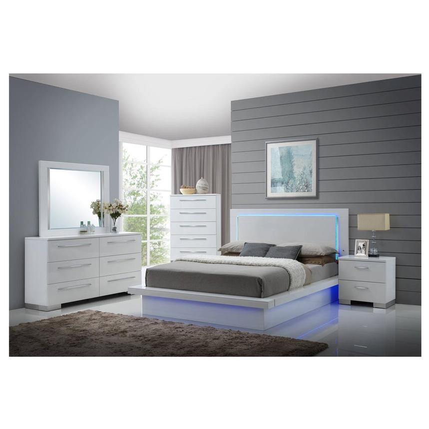 Moonstone 6-Piece Queen Bedroom Set  alternate image, 2 of 7 images.