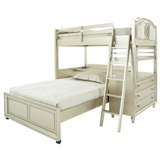 Regency Twin Over Full Bunk Bed w/Storage