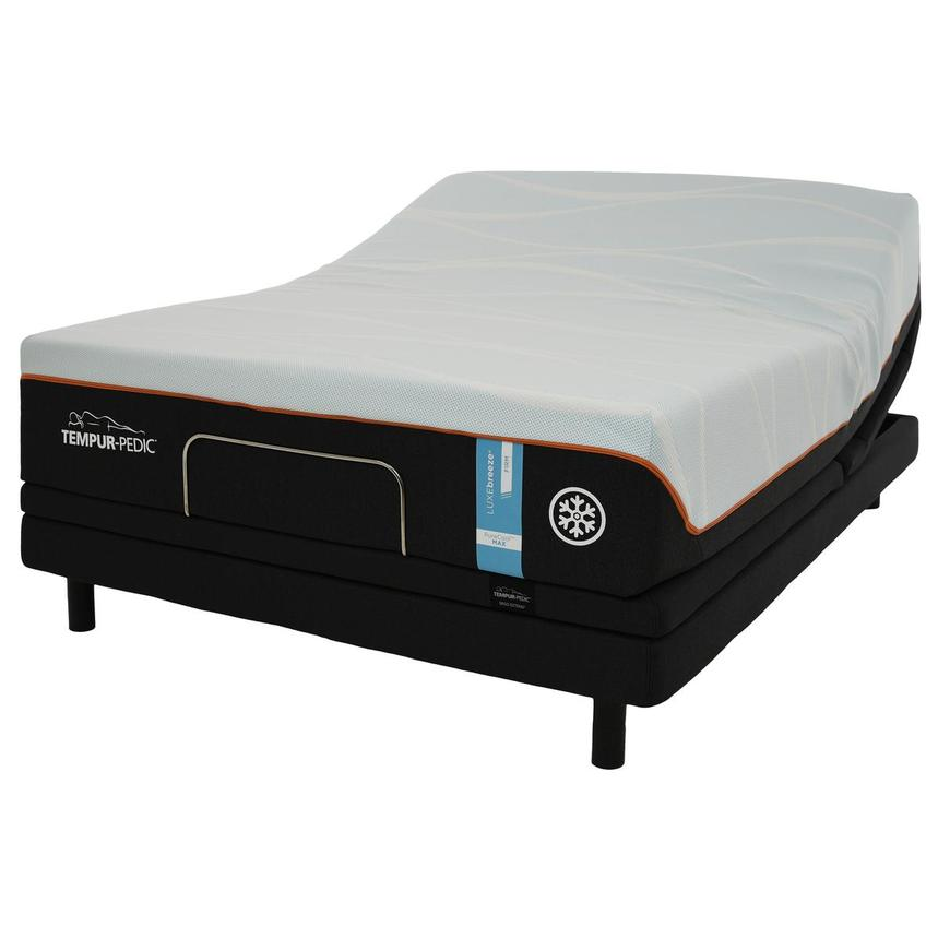 Luxe-Breeze Firm Twin XL Mattress w/Ergo® Extend Powered Base by Tempur-Pedic  main image, 1 of 6 images.