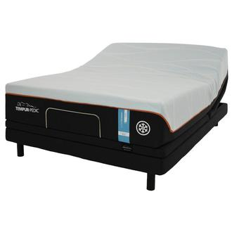 Luxe-Breeze Firm Twin XL Mattress w/Ergo® Extend Powered Base by Tempur-Pedic