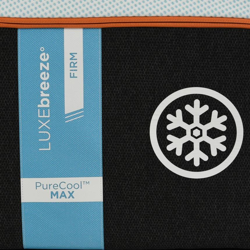 Luxe-Breeze Firm Twin XL Mattress w/Regular Foundation by Tempur-Pedic  alternate image, 4 of 5 images.