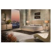 Mont Blanc Gray 4-Piece King Bedroom Set  alternate image, 5 of 9 images.