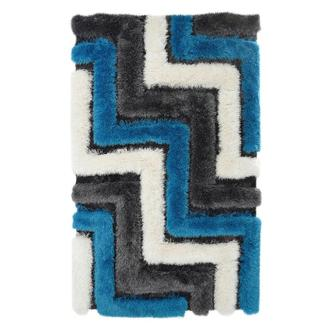 Puffy I Blue 5' x 8' Area Rug