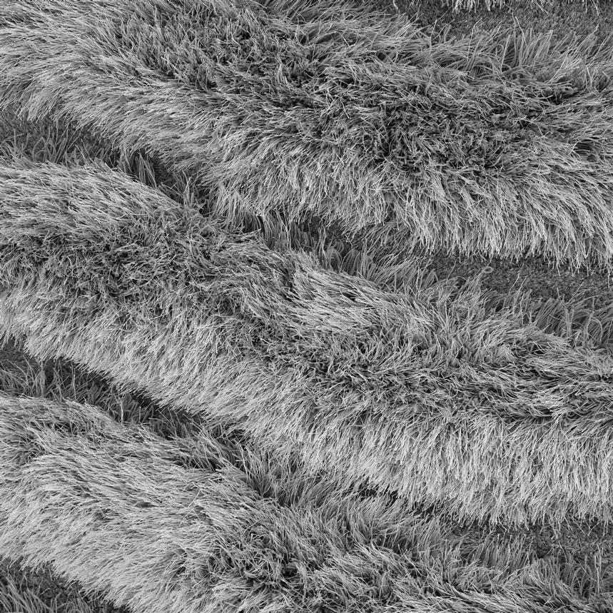 Puffy II Gray 5' x 8' Area Rug  alternate image, 2 of 3 images.