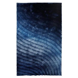 Retro Blue 5' x 8' Area Rug