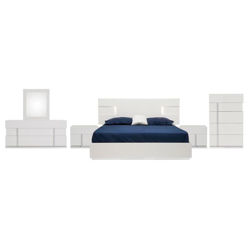 Ava 6-Piece King Bedroom Set Made in Italy