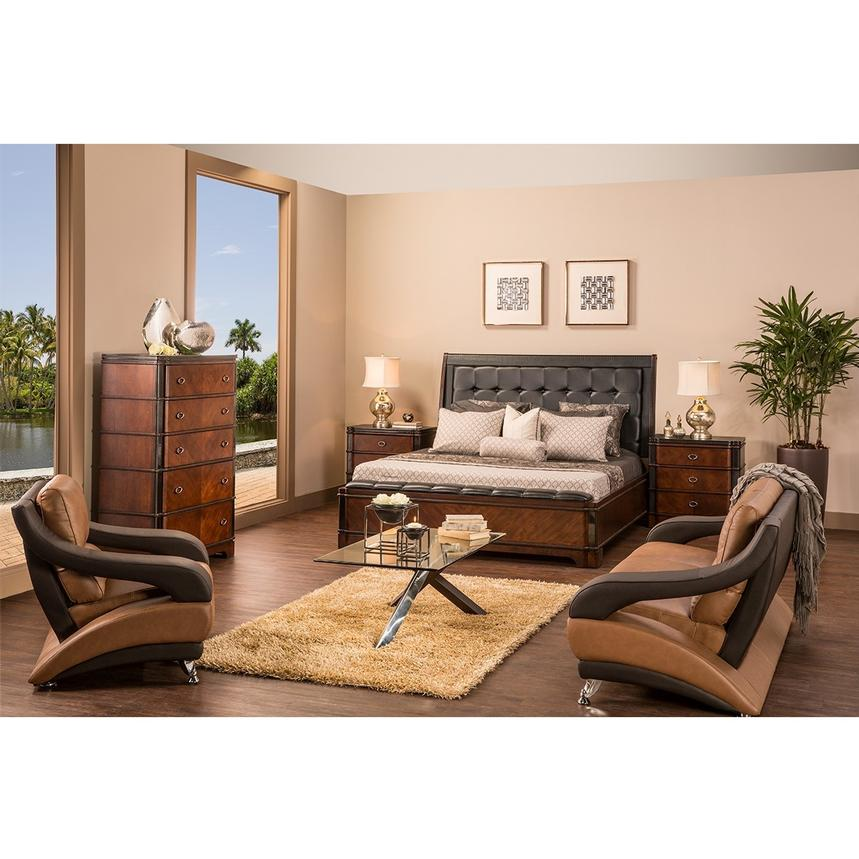 Donata 6-Piece Queen Bedroom Set  alternate image, 2 of 7 images.