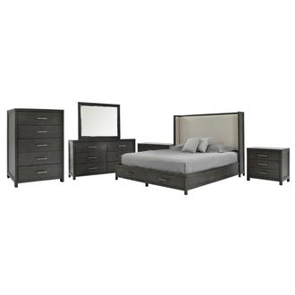 Edina 6-Piece Queen Bedroom Set