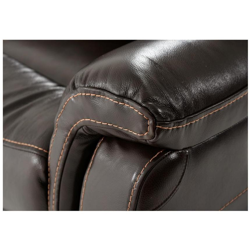 Jeremi Leather Power Reclining Sectional  alternate image, 7 of 9 images.