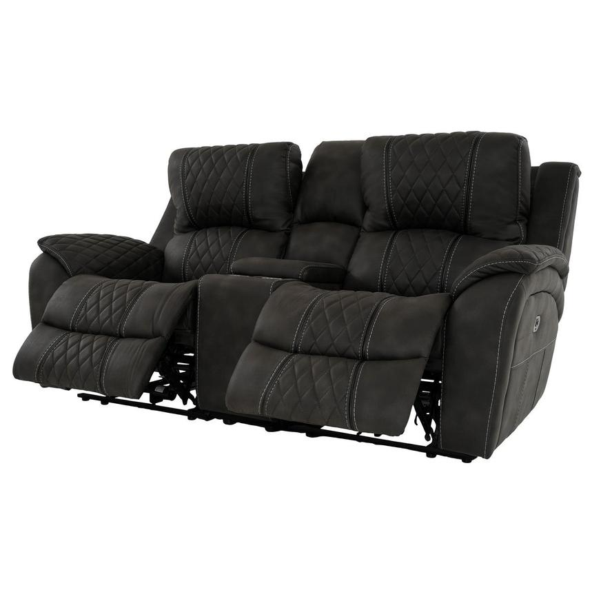 Jackson Power Reclining Sofa w/Console  alternate image, 3 of 13 images.