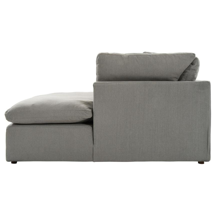Neapolis Gray Corner Sofa w/Right Chaise  alternate image, 3 of 6 images.