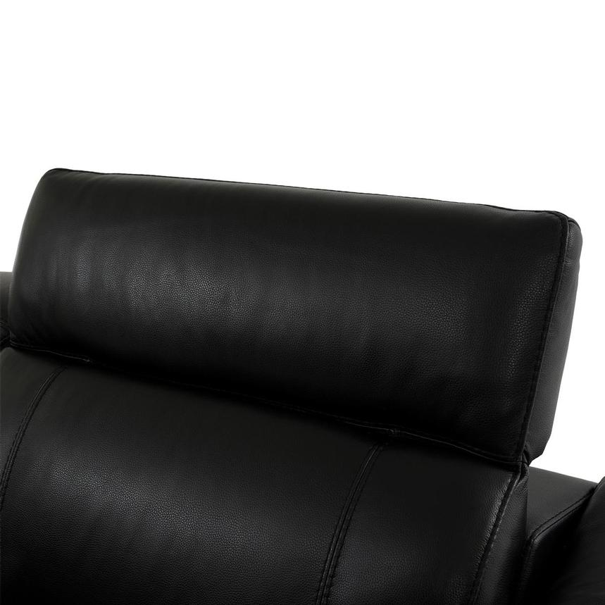 Austin Black Home Theater Leather Seating  alternate image, 6 of 11 images.