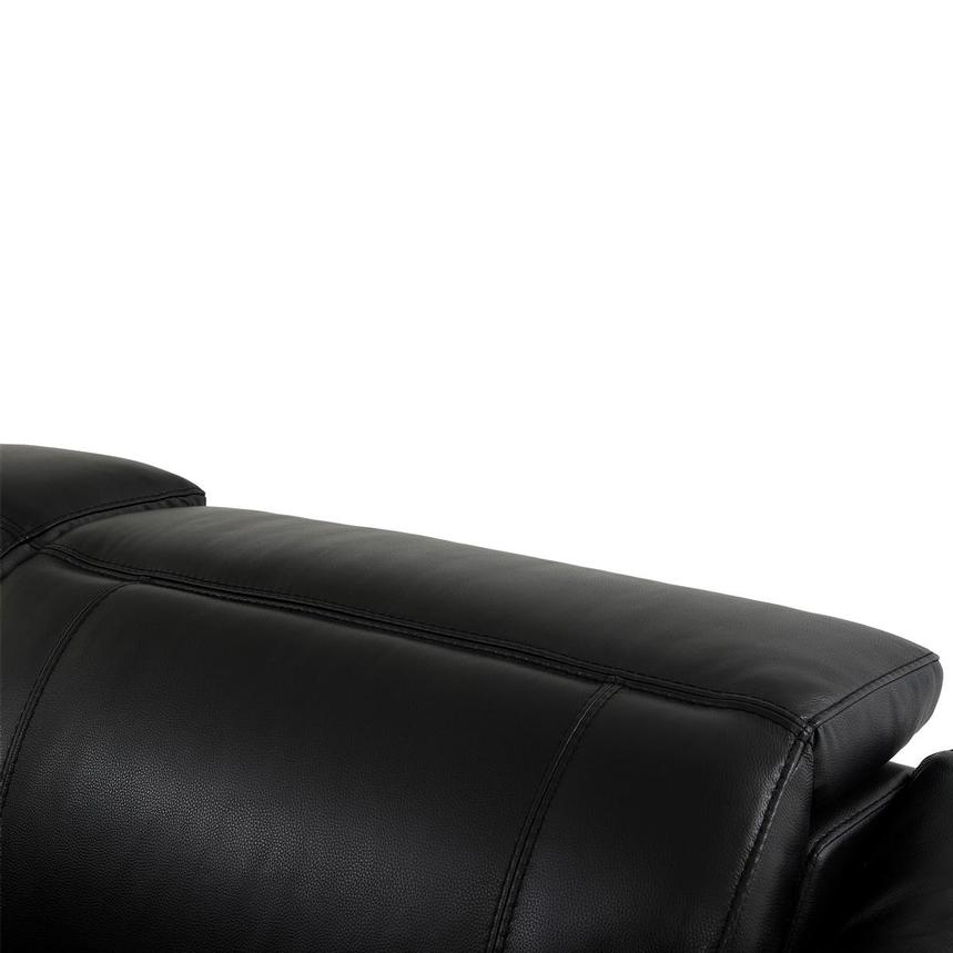 Austin Black Home Theater Leather Seating  alternate image, 7 of 11 images.