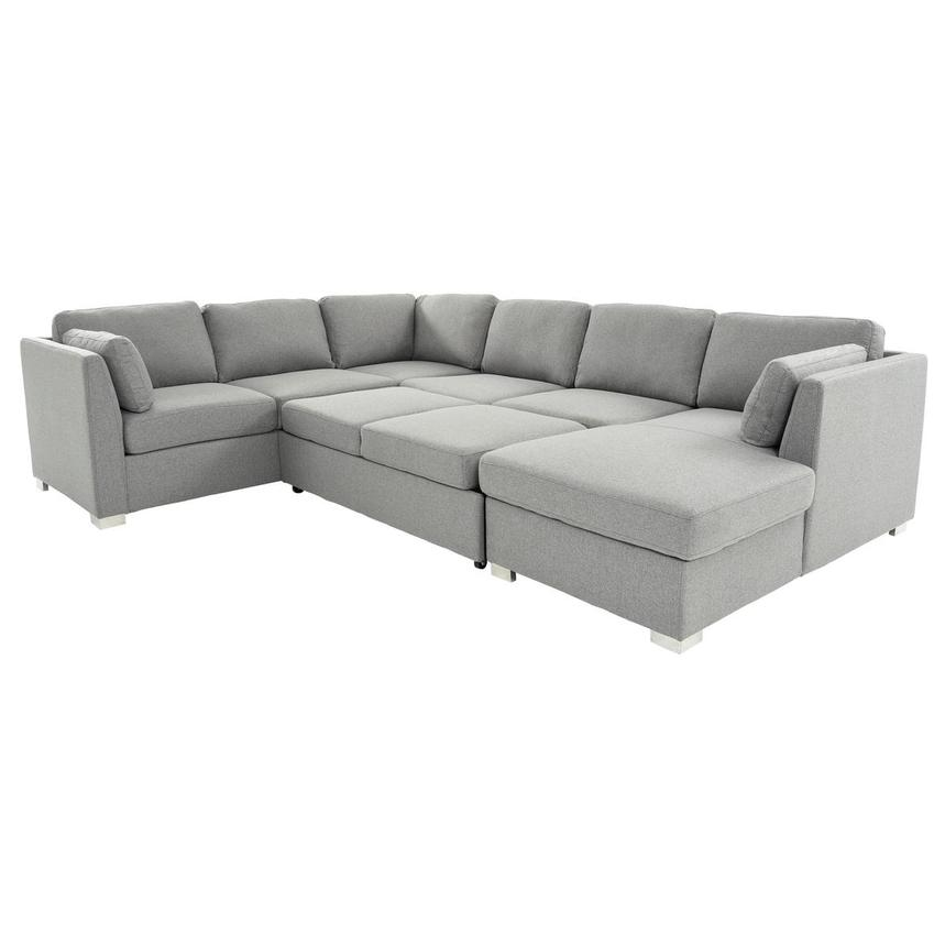 Vivian Sectional Sleeper Sofa w/Right Chaise  alternate image, 2 of 11 images.
