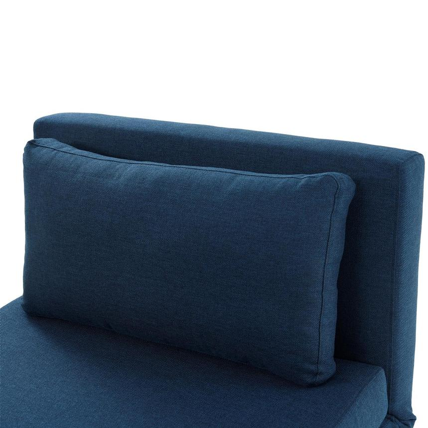 Iso II Blue Chair Bed  alternate image, 7 of 8 images.