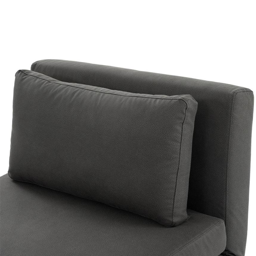 Iso II Dark Gray Chair Bed  alternate image, 7 of 8 images.