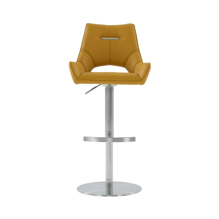 Kalia II Mustard Adjustable Stool  main image, 1 of 10 images.