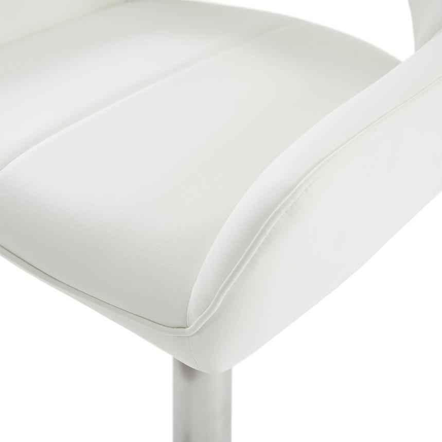 Kalia II White Adjustable Stool  alternate image, 7 of 10 images.