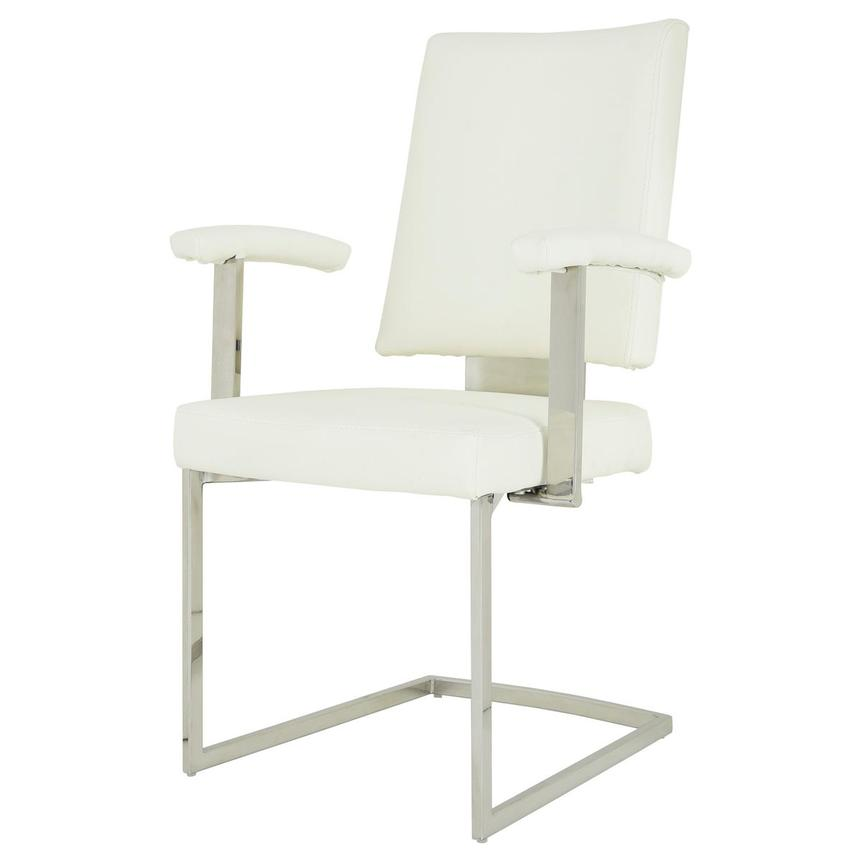 Sveva White Arm Chair  alternate image, 2 of 6 images.