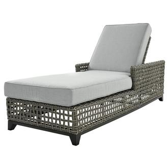 Fortuna Gray Chaise Lounge