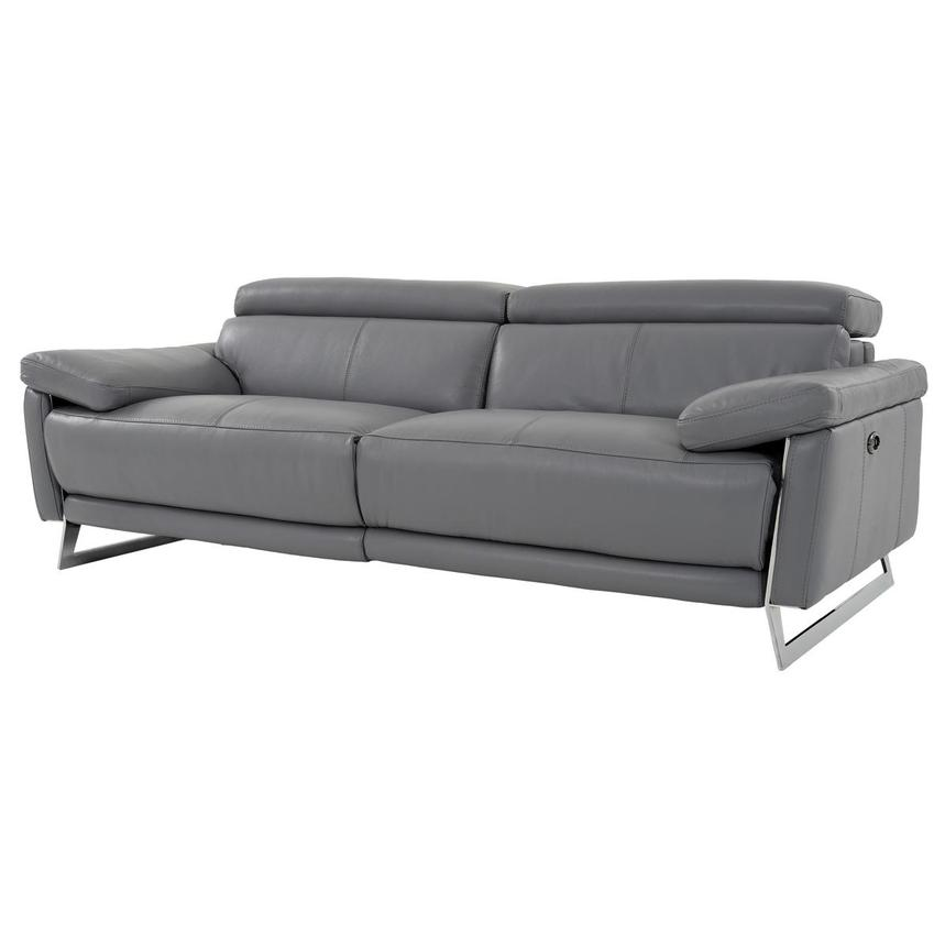 Gabrielle Leather Power Reclining Sofa  alternate image, 2 of 10 images.