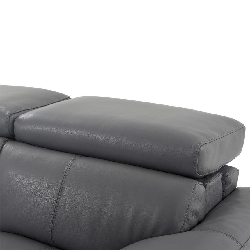 Gabrielle Leather Power Reclining Sofa  alternate image, 7 of 10 images.