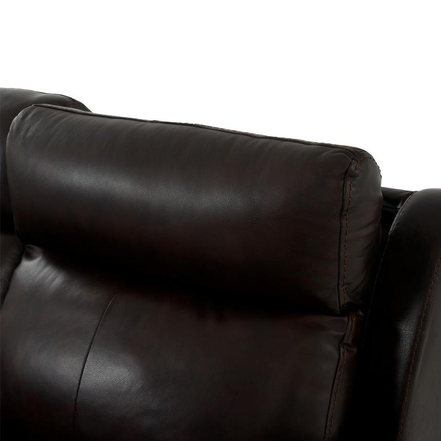 Bronco Leather Power Reclining Sofa w/Console  alternate image, 6 of 12 images.