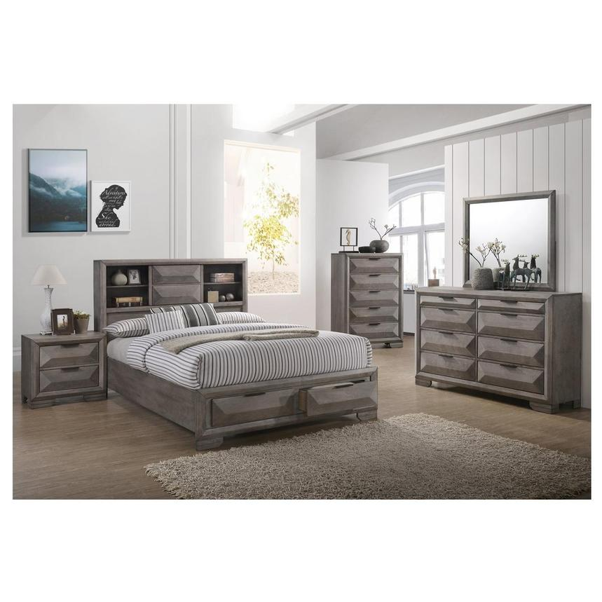Mathew 6-Piece King Bedroom Set  alternate image, 2 of 7 images.