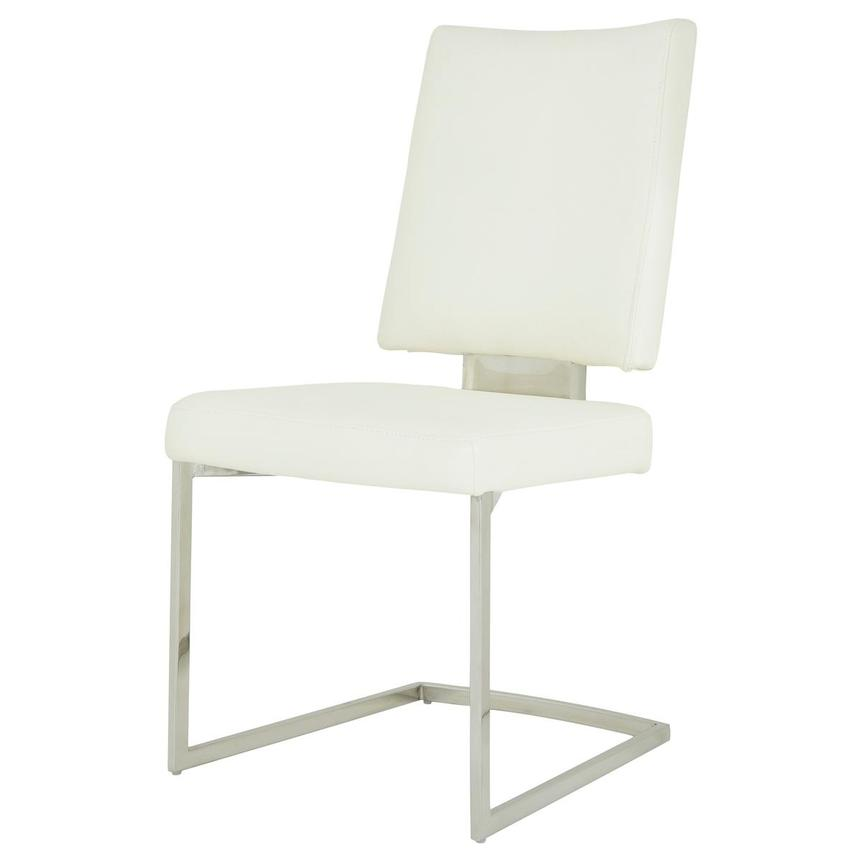 Sveva White Side Chair  alternate image, 2 of 6 images.
