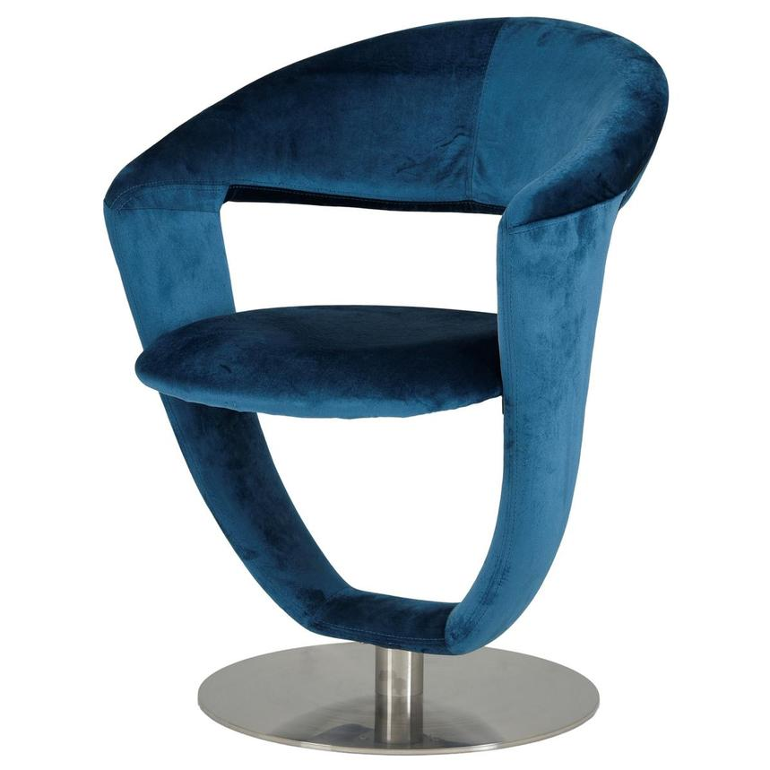 Clarisse Blue Side Chair  alternate image, 2 of 7 images.