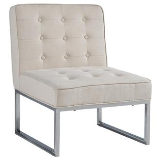 Rosedale White Accent Chair