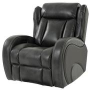 Pronto Gray Power Recliner  alternate image, 2 of 10 images.