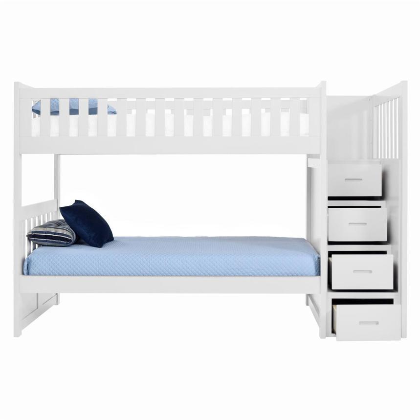 Balto White Twin Over Bunk Bed W