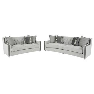 Sonia Gray Living Room Set