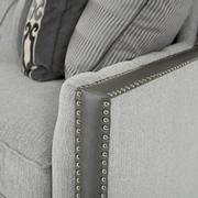 Sonia Gray Loveseat  alternate image, 6 of 7 images.