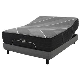 BRB-X-Class Hybrid Med. Firm Queen Mattress w/Motion Perfect® IV Powered Base by Serta®