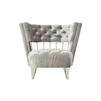 Brody Gray Accent Chair