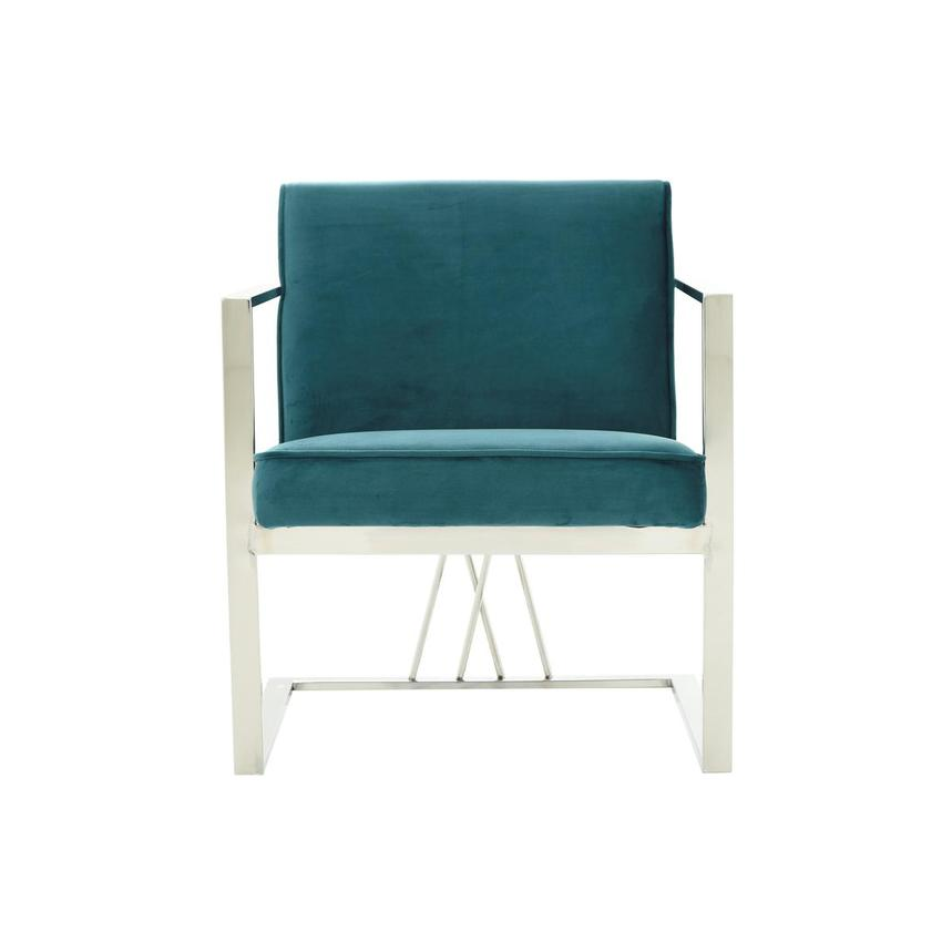 Fairmont Teal Accent Chair  main image, 1 of 7 images.