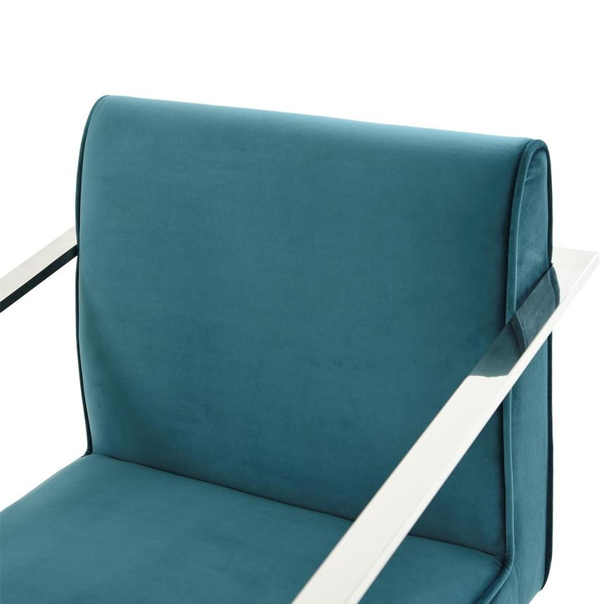 Fairmont Teal Accent Chair  alternate image, 6 of 7 images.
