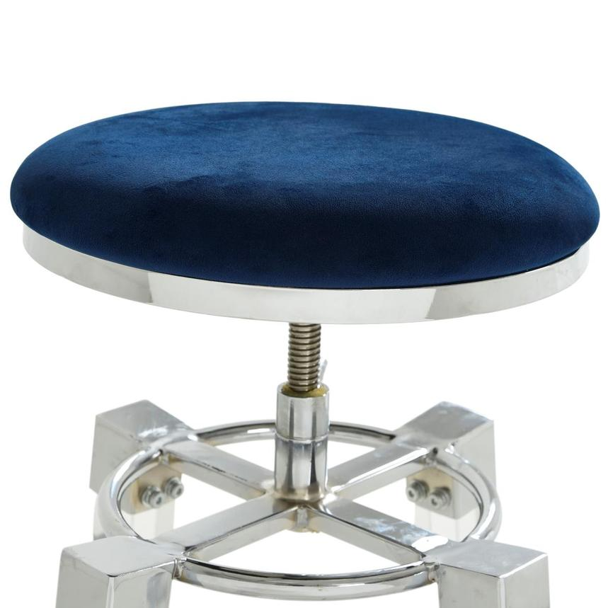 Julie Blue Adjustable Stool  alternate image, 3 of 3 images.