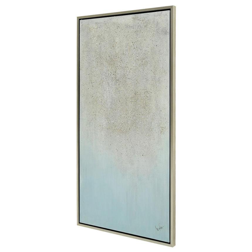 Light Blue Canvas Wall Art El Dorado Furniture