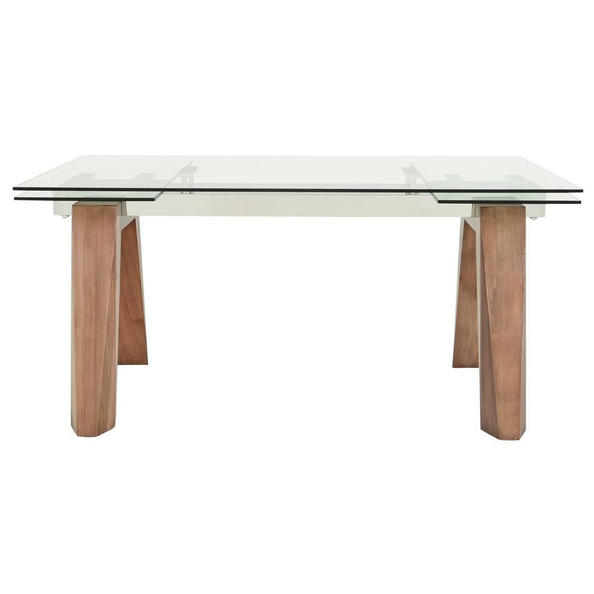 Valencia Walnut Extendable Dining Table  alternate image, 3 of 9 images.
