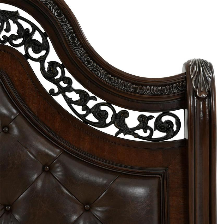 Monaco King Sleigh Bed  alternate image, 4 of 8 images.