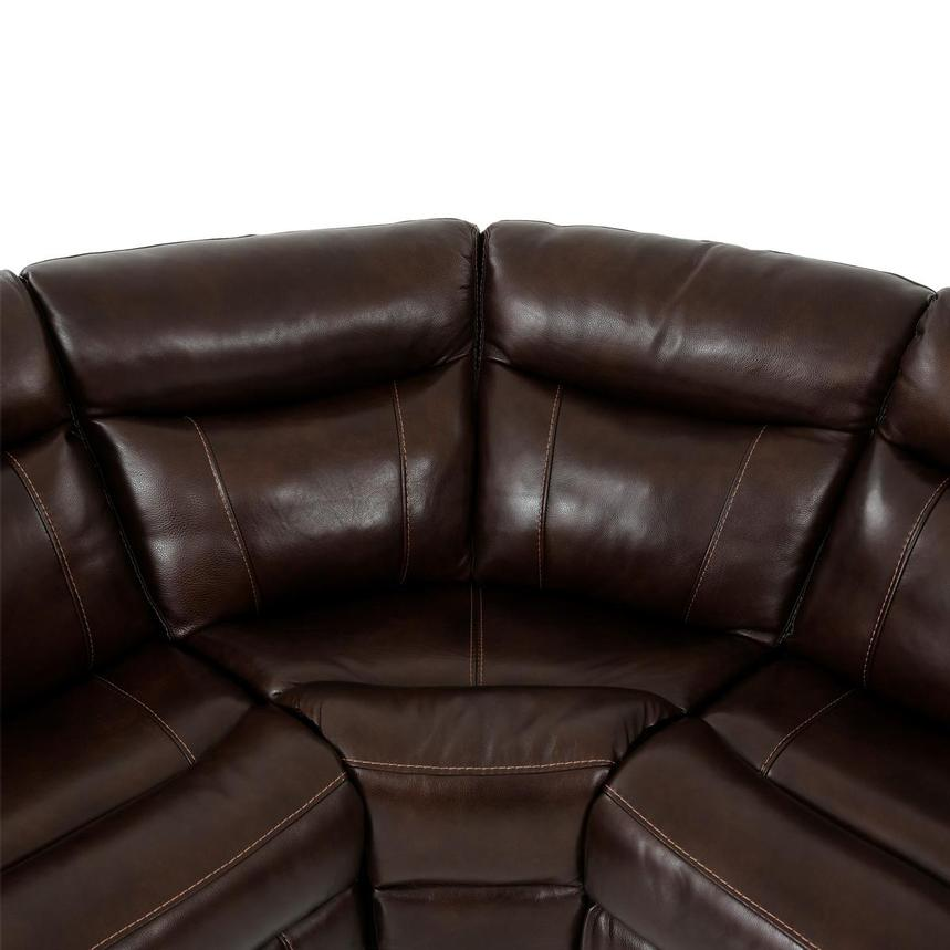 Billy Joe Leather Power Reclining Sectional  alternate image, 8 of 12 images.