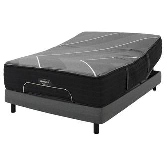 BRB-X-Class Hybrid Firm King Mattress w/Motion Perfect® IV Powered Base by Serta®