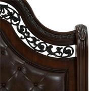 Monaco Queen Sleigh Bed  alternate image, 4 of 8 images.