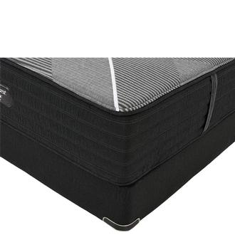 BRB-X-Class Hybrid Firm Twin XL Mattress w/Regular Foundation by Simmons Beautyrest Black Hybrid